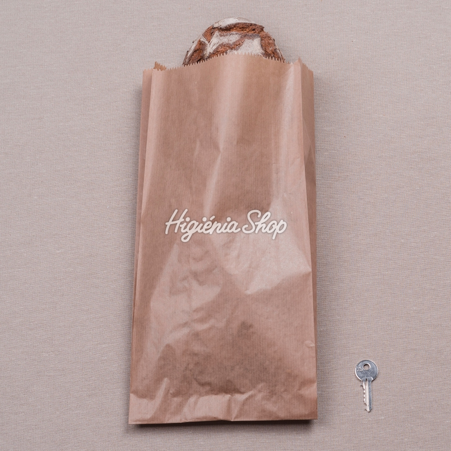 1a03f92071 1,5 kg-os hosszú, csíkozott barna papírzacskó, 1000 db | BontaBag